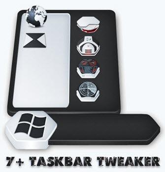 7+ Taskbar Tweaker 5.11.2 + Portable