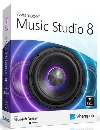 Ashampoo Music Studio 8.0.7.5 RePack (& Portable) by TryRooM
