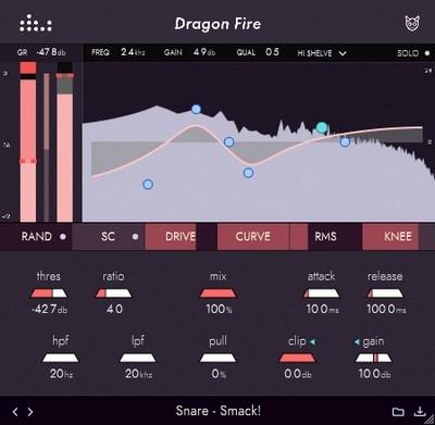 Denise Audio - Dragon Fire 1.0.0 VST, VST3, AAX (x32/x64)
