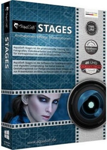 AquaSoft Stages 12.2.06 RePack (& Portable) by elchupacabra