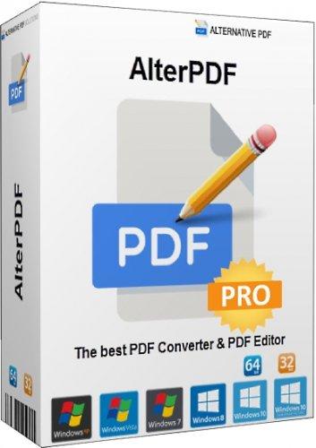 Преобразование PDF в изображения AlterPDF Pro 5.6 RePack (& Portable) by elchupacabra