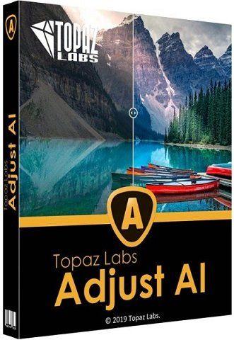 Topaz Adjust AI 1.0.6 RePack (& Portable) by elchupacabra