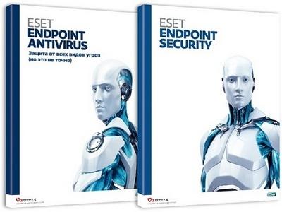 Компьютерная защита ESET Endpoint Antivirus / ESET Endpoint Security 8.0.2039.0 RePack by KpoJIuK