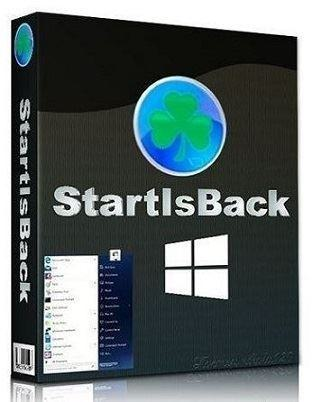 Стандартная кнопка Пуск StartIsBack++ 2.9.15 StartIsBack + 1.7.6 RePack by KpoJIuK