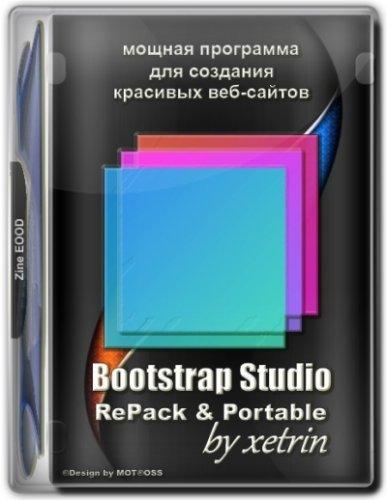 Создание веб проектов Bootstrap Studio 5.8.0 RePack (& Portable) by xetrin