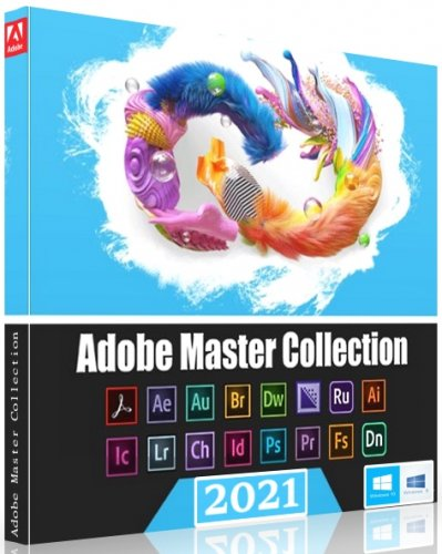 Графический софт Adobe Master Collection 2021 8.0 by m0nkrus