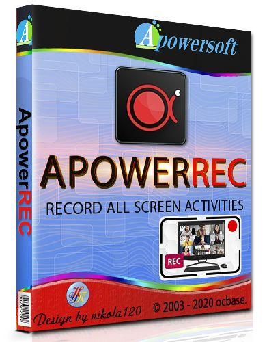 Запись экрана ApowerREC 1.4.16.5 RePack (& Portable) by TryRooM