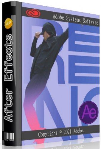 Компоновка графики Adobe After Effects 2021 18.4.0.41 RePack by KpoJIuK