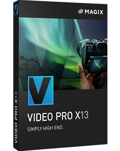 Создание профессиональных видеороликов MAGIX Video Pro X13 19.0.1.107 (x64)