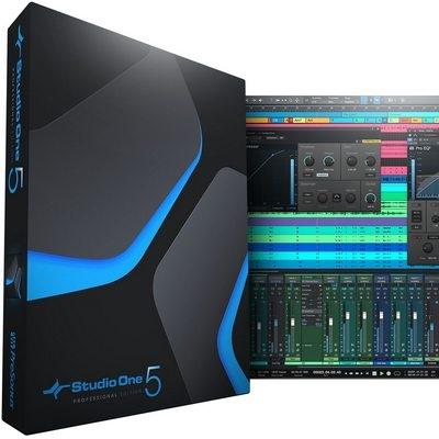 Программа для записи музыки PreSonus Studio One 5 Professional 5.4.1
