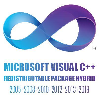 Microsoft Visual C++ 2005-2008-2010-2012-2013-2019-2022 Redistributable Package Hybrid x86 & x64 (26.07.2021)