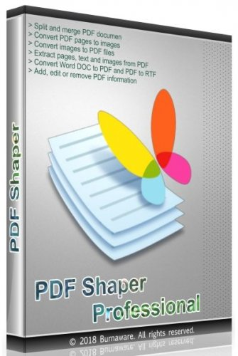PDF Shaper Professional 11.2 RePack (& Portable) by TryRooM