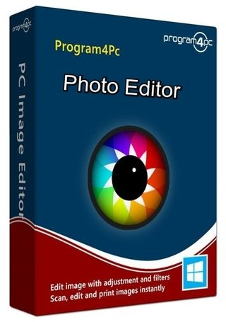 Program4Pc Photo Editor 8.0 RePack (& Portable) by elchupacabra