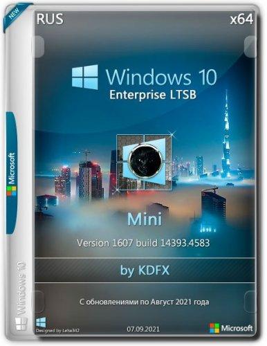 Windows 10 Enterprise LTSB x64 1607.14393.4583 Mini by KDFX