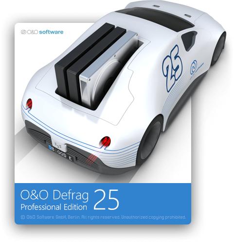 Дефрагментация жестких дисков O&O Defrag Professional 25.0 Build 7210 RePack by KpoJIuK