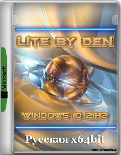 Windows 10 21H2 Lite by Den (x64-19044.1263)