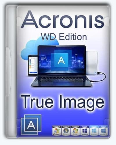 Резервное копирование Acronis True Image WD Edition 25.0.1.39200