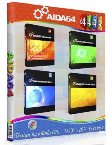 Тест компонентов ПК - AIDA64 Extreme | Engineer | Business | Network Audit 6.50.5800 RePack (&Portable) by 9649