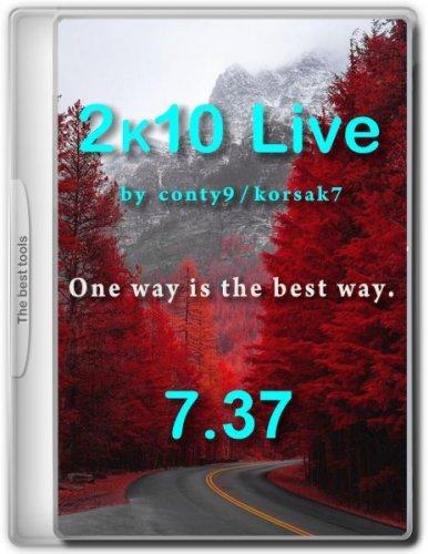 Диск для обслуживания компьютера 2k10 Live 7.37