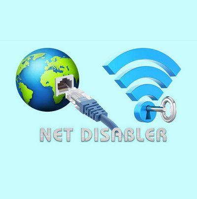 Быстрое отключение интернета Net Disabler 1.1 Portable